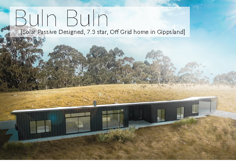 see our sustainable house project in Buln Buln East